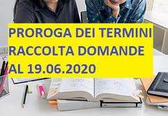 PROROGA TERMINI RACCOLTA DOMANDE BORSE DI STUDIO - Anno Scolastico 2019/2020