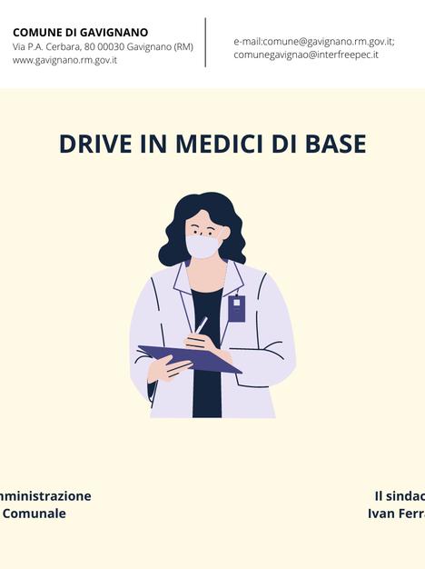DRIVE IN MEDICI DI BASE