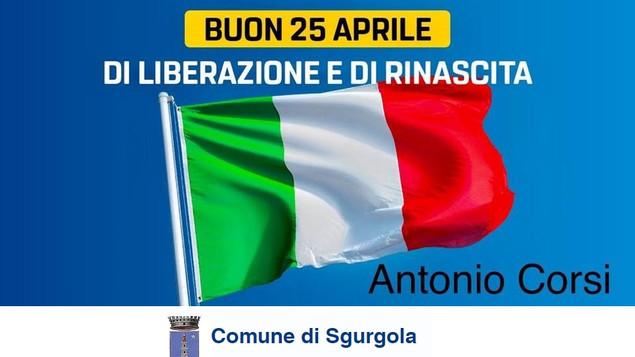 25 APRILE 2021Anniversario della Liberazione d'Italia