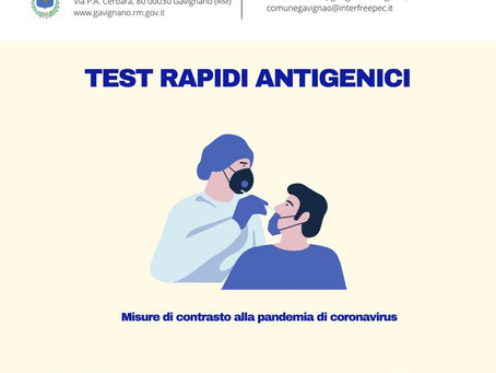 TEST RAPIDI ANTIGENICI