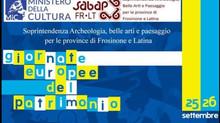 GIORNATE EUROPEE DEL PATRIMONIO25-26 Settembre 2021Terme di #Supino (FR).
