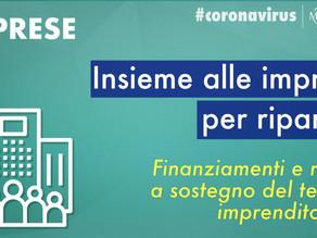 AVVISO PUBBLICO: Contributi a fondo perduto per le imprese operanti nel territorio di Gavignano.