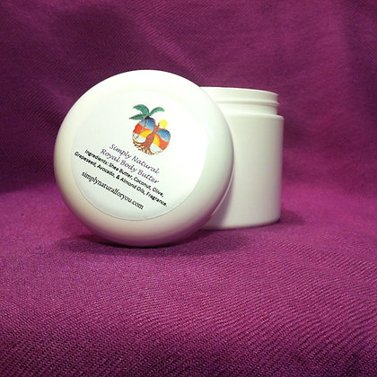 Simply Natural© Royal Body Butter - 8oz