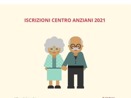 TESSERAMENTO CENTRO SOCIALE ANZIANI 2021