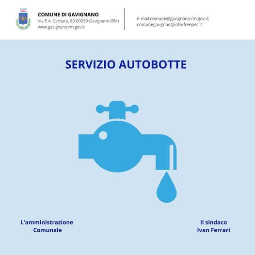 AVVISO ACEA: Comunicazione lavori centro idrico