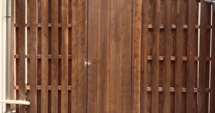 外構工事:板塀