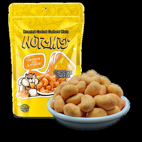 【車打芝士風味】Cheddar Cheese - Nutchies  - 100 g【6件 $234 | 12件 $432】