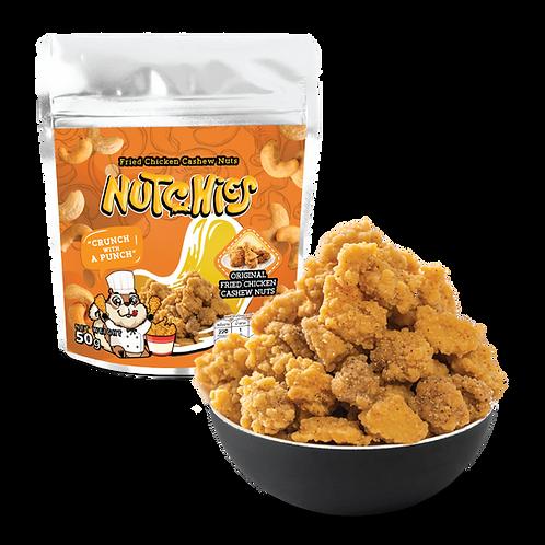 【炸雞風味腰果】Original Fried Chicken - Cashew - 50 g【輕量版 優惠 - 12件 $240】