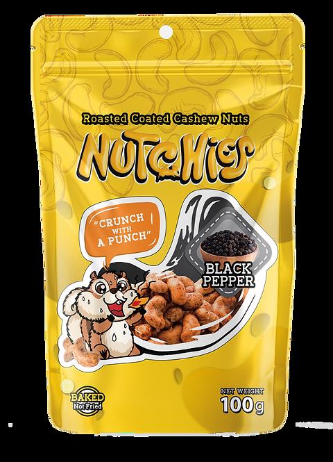 【黑胡椒風味】Black Pepper - Nutchies  - 100 g【 6件 $234 | 12件 $432】