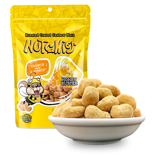 【蜂蜜奶油風味】Honey Butter - Nutchies  - 100 g【 6件 $234 | 12件 $420】