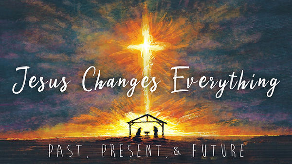 Jesus Changes Everything Projection Artw