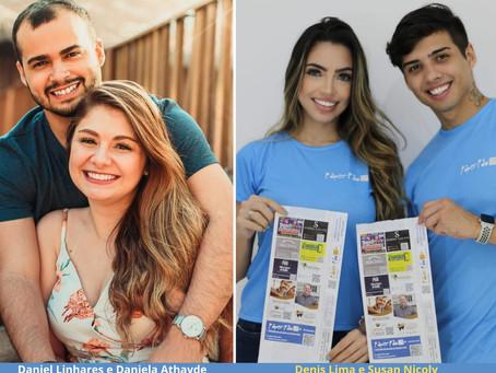 Casais empreendedores: inspire-se com a coragem desses franqueados da Paper Pão