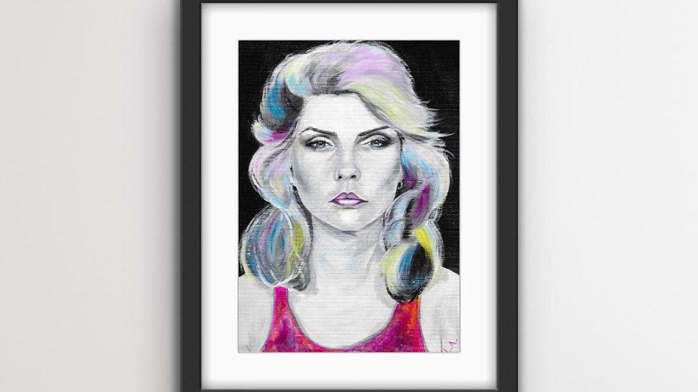 Debbie A3 Art Print