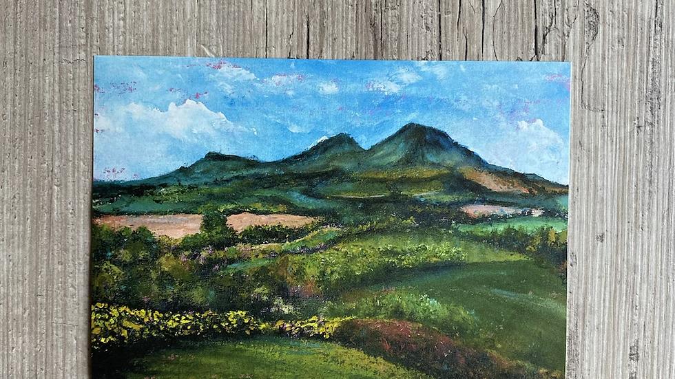 'Scott's View' A4 art print.