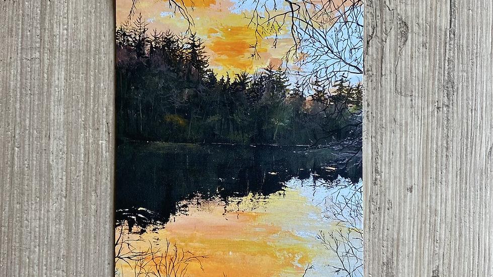 'Solitude' A3 art print