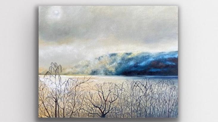 'Misty Haze' Original Oil Painting