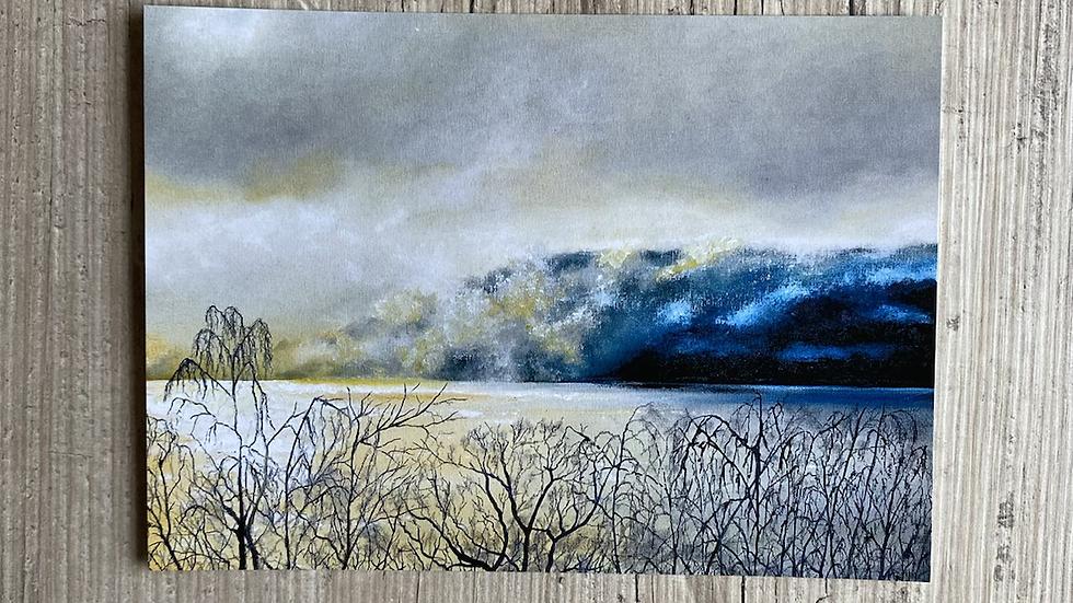 'Misty Haze' A4 art print.