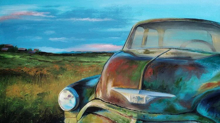 Big Rusty Chevy