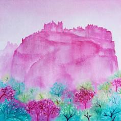 Edinburgh Castle Spring