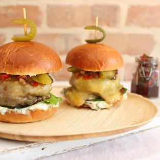 Pickle Burgers 🍔