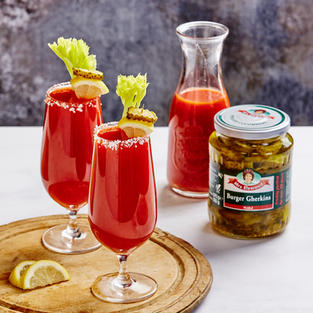 Dill Pickle Bloody Marys
