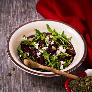 Goat Cheese & Beetroot Salad