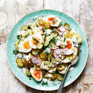 Perfect Pickles 'n' potato salad