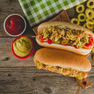 Pickled Hot Dog