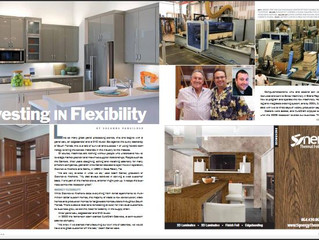 Eurocraft Cabinets Featured In Surface & Panel Magazine