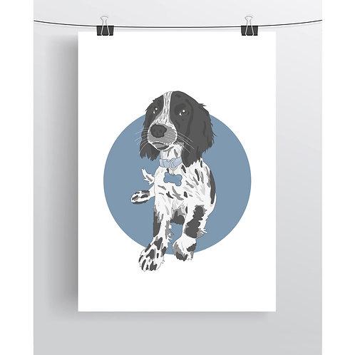 Colour Person / Pet Illustration (Colour Spot)