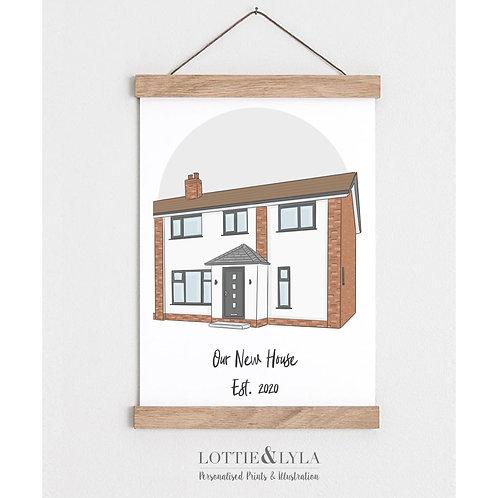 Colour Home Illustration