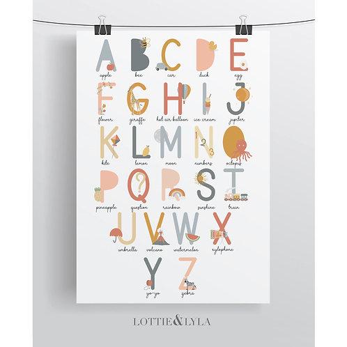 The Illustrated Alphabet