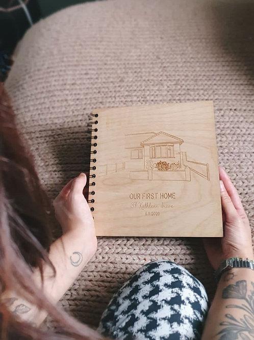 Wooden Laser Scrapbook