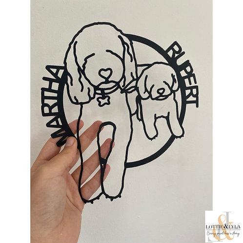 Papercut Illustration - Circle
