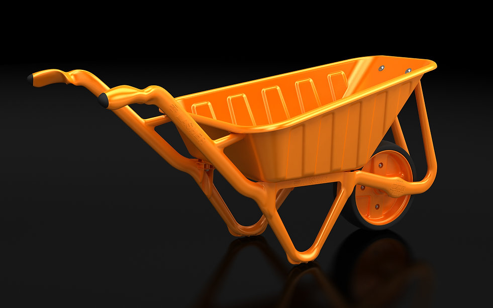 wheel barrow industrial design