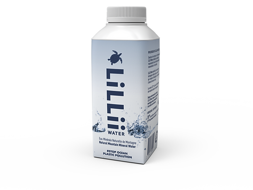 LiLLii Water 330ml -  24 bouteilles