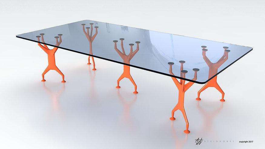 Skala table industrial design