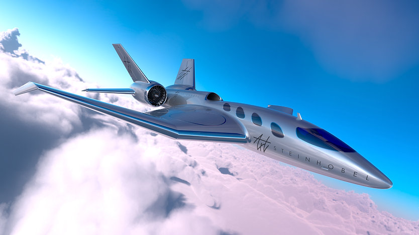 business jet Industrial design