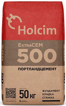 ХОЛСИМ цемент М-500 Д20 быстротвердеющий (50кг)