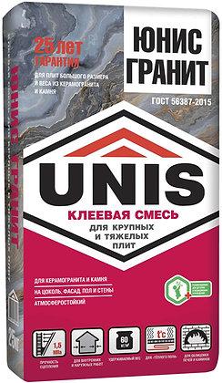 ЮНИС Гранит клей для керамогранита (25кг)
