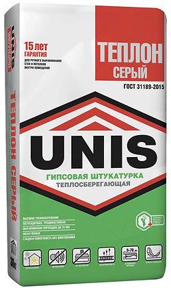 ЮНИС Теплон Серый штукатурка гипсовая (30кг)