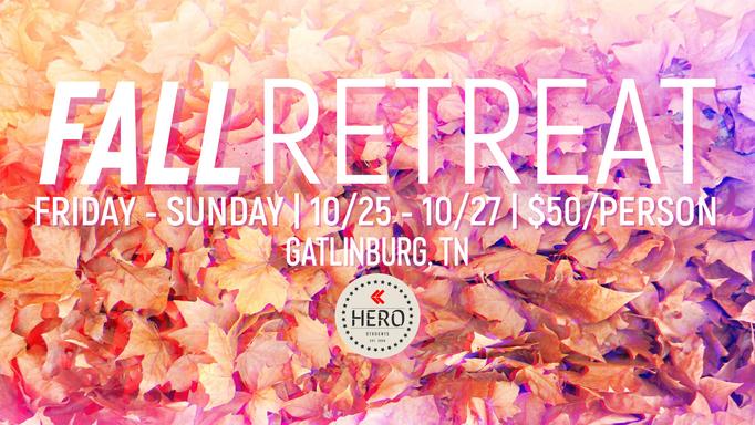 HERO Students Fall Retreat
