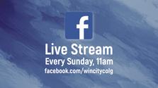 Facebook Live Stream Every Sunday, 11am