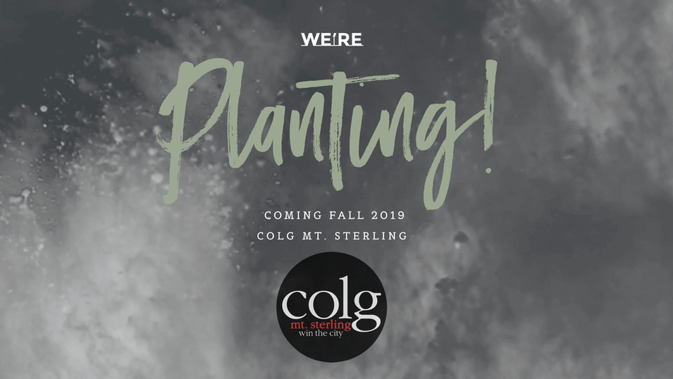 Coming this Fall! COLG Mt. Sterling