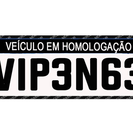 As Novas Placas do Mercosul