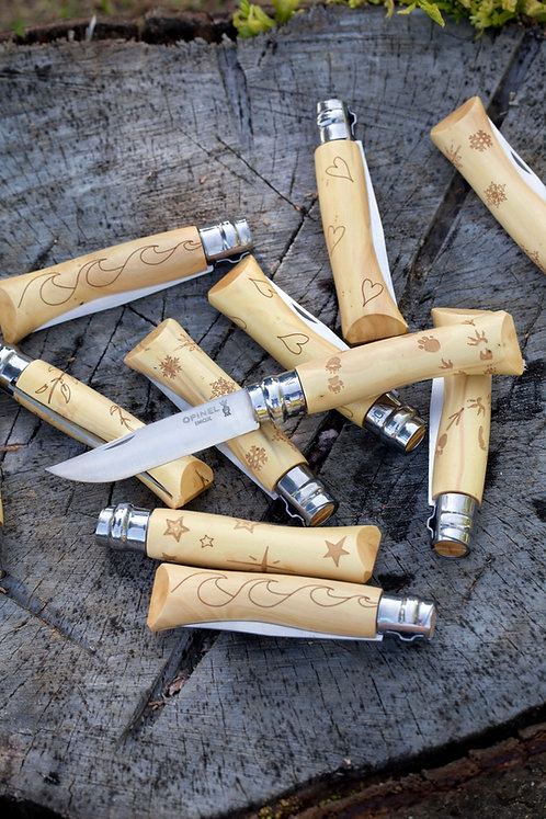 Canivete Tradition Animália Nº 8 C/Cordão - Opinel
