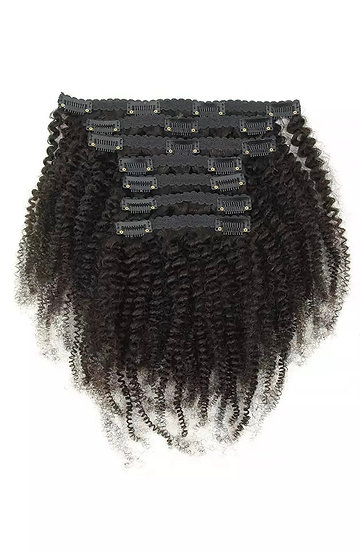 Afro Kinky Coily Clip-Ins