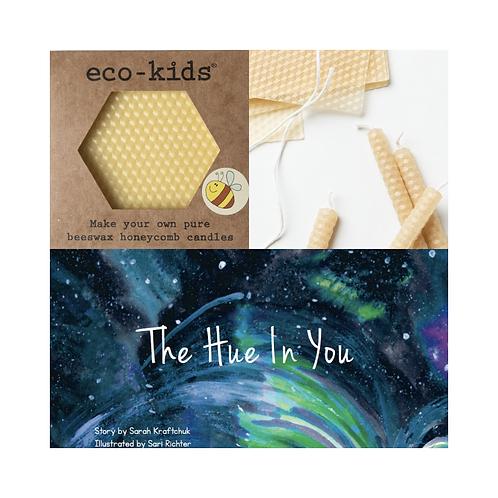 Shine Bundle: Beeswax Candle Making Kit & Hue