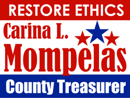 Carina L. Mompelas Formally Kickoffs County Treasurer Campaign