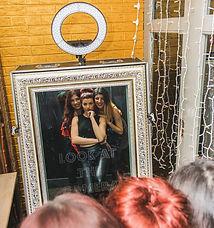 Magic Mirror Hire essex colchester white gold frame event, magic mirror hire sudbury